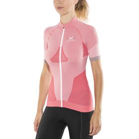 X-Bionic Race EVO Fietsshirt korte mouwen Dames rood